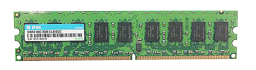 DDR2 Unbuffered-DIMM With ECC 240PIN