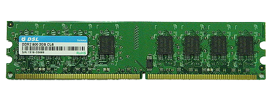 DDR2 Unbuffered-DIMM 240PIN