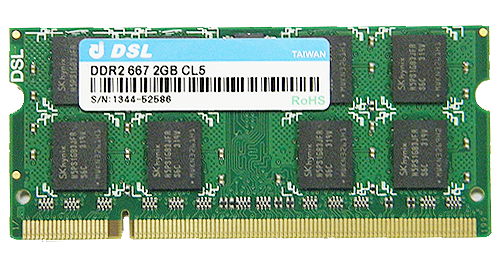 DDR2 SO-DIMM 200PIN