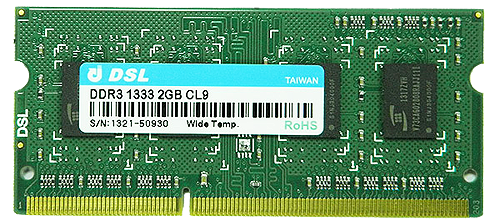 DDR3 SO-DIMM 204PIN
