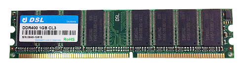 DDR Unbuffered-DIMM 184PIN