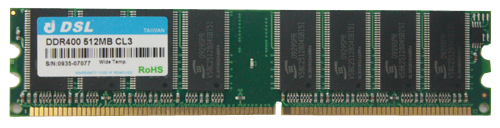DDR Unbuffered-DIMM 184IN
