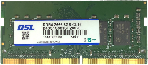 Anti-Sulfuration DDR3L 1600 8GB